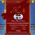 Wedding invitation card maker 2019