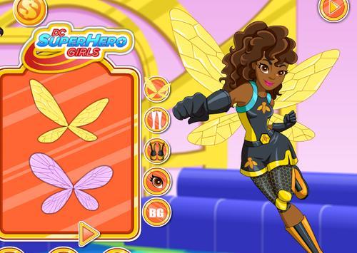 Superhero Dress Up - Harley Stylish Girls screenshot 5