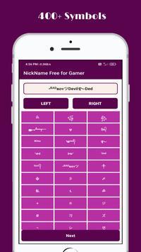 Stylish Nickname Generator Free For Pro Gamer screenshot 2