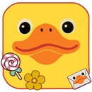 Cartoon, Yellow, Duck Themes & Wallpapers APK