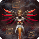 Cool, Overwatch, Mercy Themes & Wallpapers APK