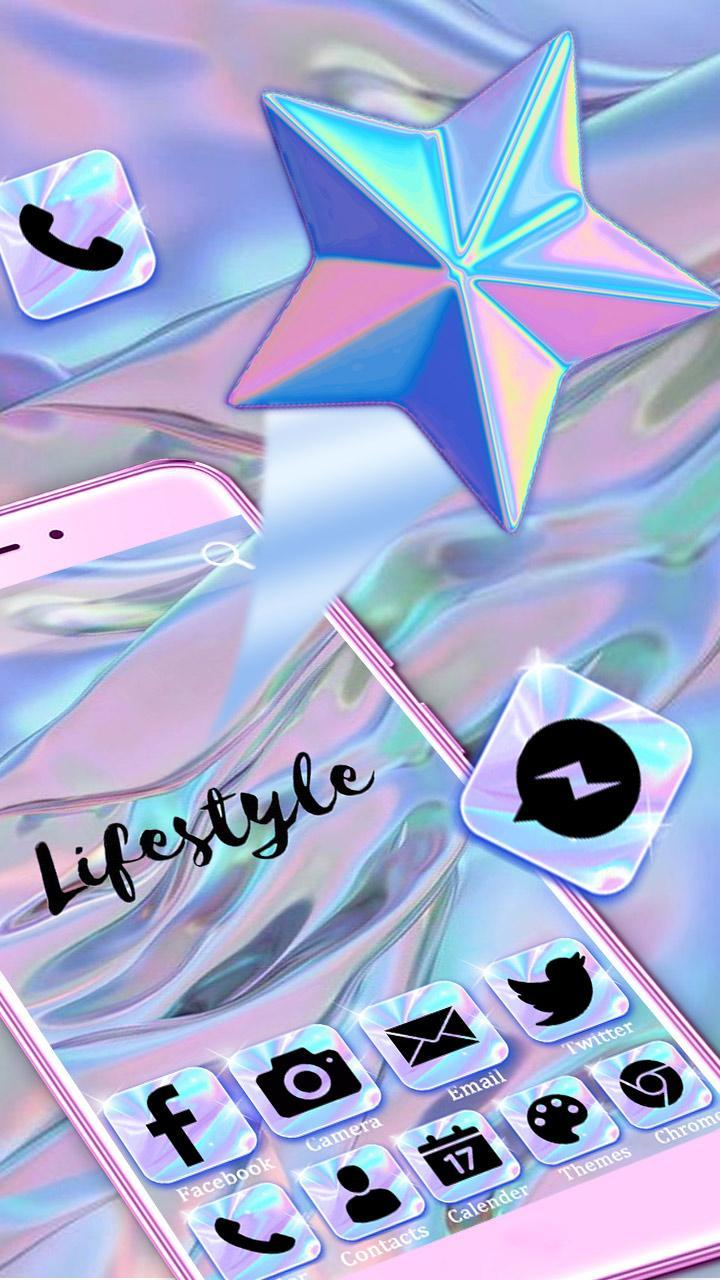 Shiny Hologram Themes & Wallpapers For Android APK Download