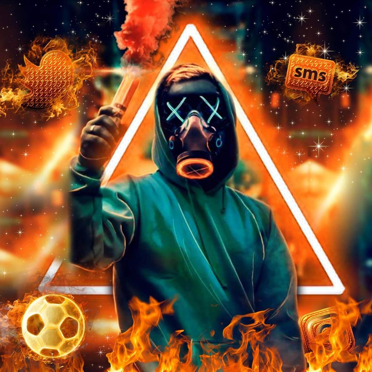 Theme Fire Torch Mask Themes Wallpapers For Android