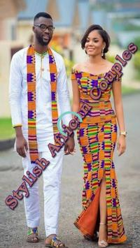 STYLISH AFRICAN COUPLES STYLES poster