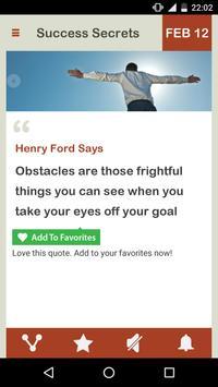 Success Secrets Daily imagem de tela 1