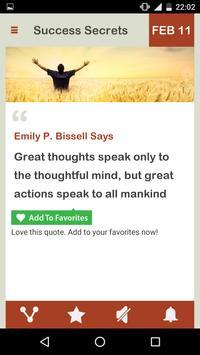 Success Secrets Daily imagem de tela 4