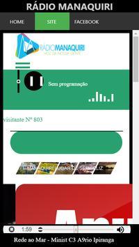 Rádio Manaquiri screenshot 4