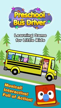 Preschool Bus: Toddler Games Free for 2 Year Olds poster