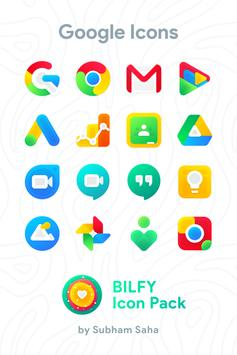 Bilfy Icon Pack poster