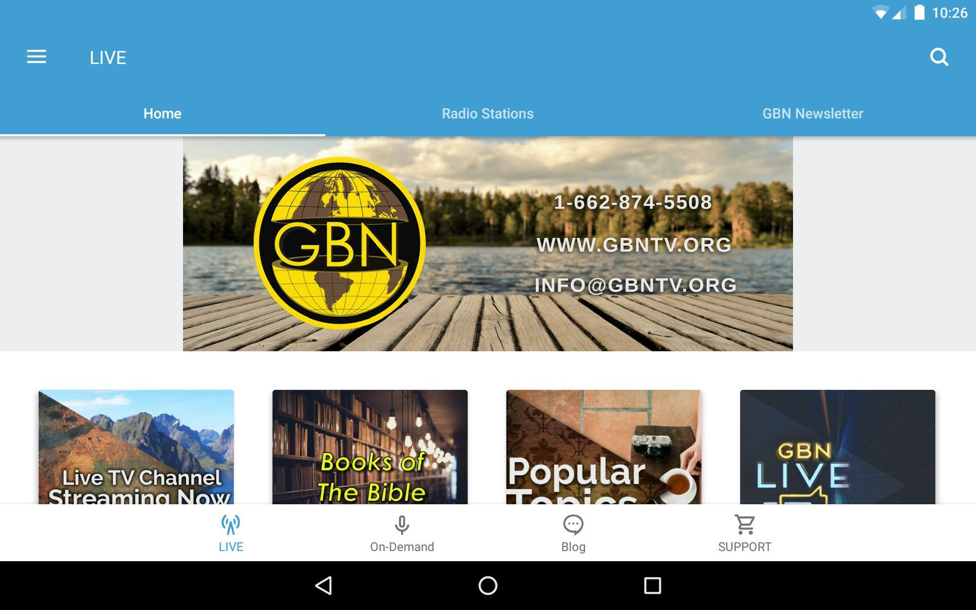 Gospel Broadcasting Network for Android - APK Download