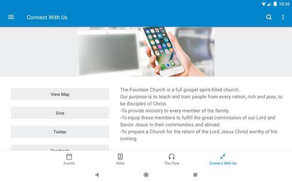 The Fountain Church App screenshot 7