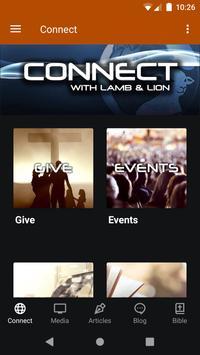 Lamb & Lion Ministries 포스터