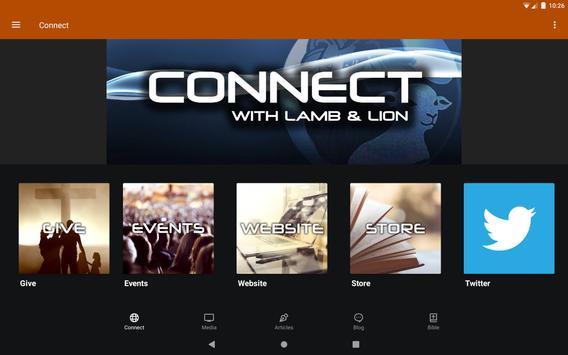Lamb & Lion Ministries 截圖 3