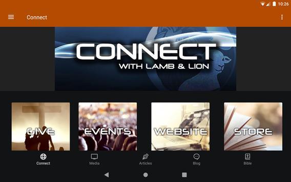 Lamb & Lion Ministries 스크린샷 6