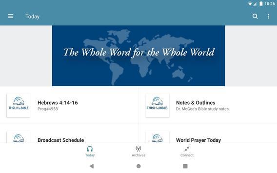 Thru the Bible Radio Network captura de pantalla 3