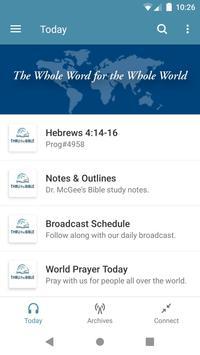 Thru the Bible Radio Network Poster