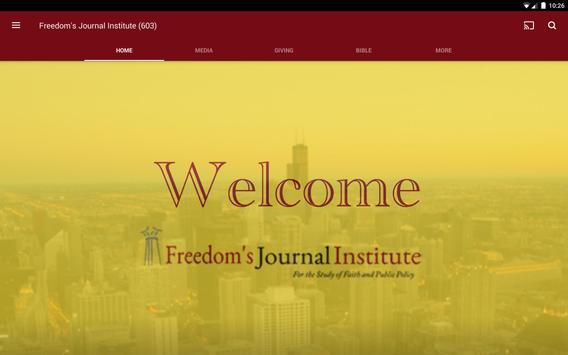 Freedom's Journal Institute screenshot 3