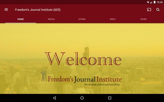 Freedom's Journal Institute screenshot 6