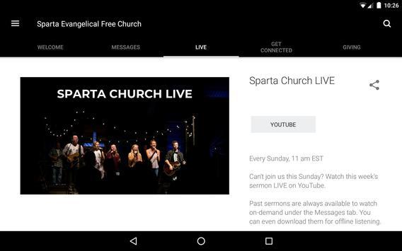 Sparta Church screenshot 8