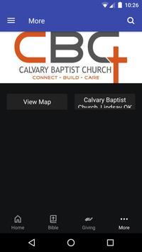 Calvary Baptist Church Lindsay screenshot 2
