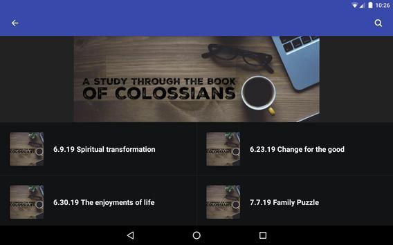 Calvary Baptist Church Lindsay screenshot 7