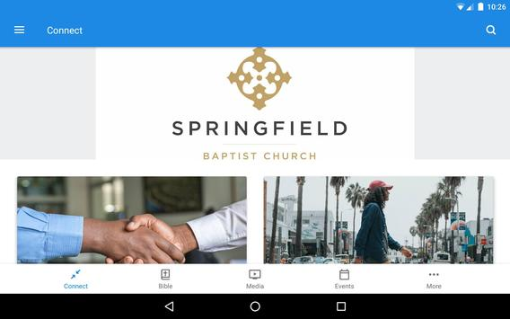 Springfield Baptist Church KY screenshot 6