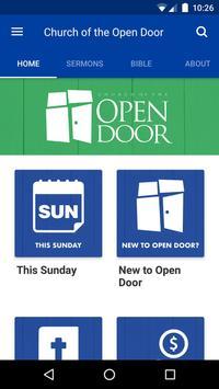 Open Door plakat
