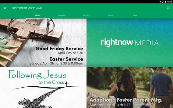 Trinity Baptist Church Cayce screenshot 3