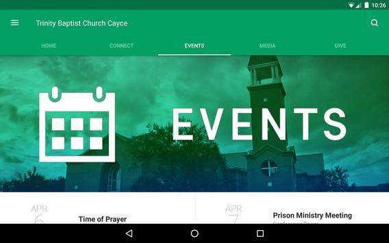 Trinity Baptist Church Cayce screenshot 8