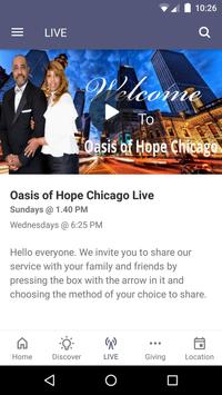 Oasis of Hope Chicago screenshot 2