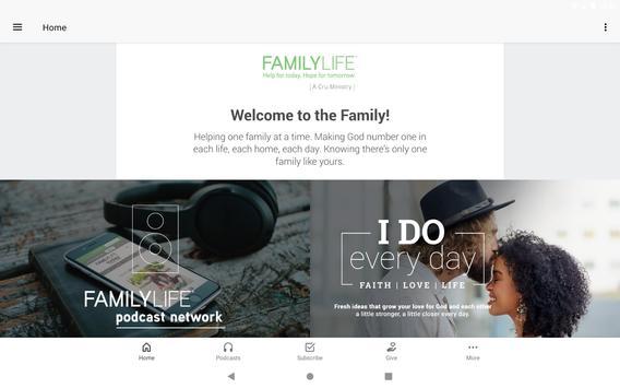 FamilyLife ® تصوير الشاشة 3