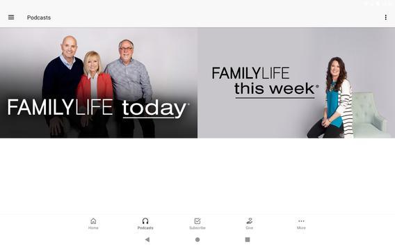 FamilyLife ® تصوير الشاشة 4