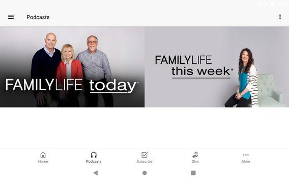FamilyLife ® تصوير الشاشة 7