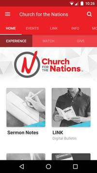 Church for the Nations (CFTN) poster
