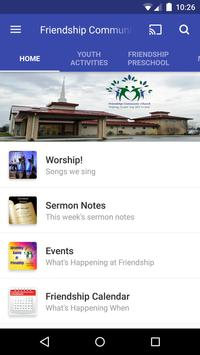 Friendship Community Church poster
