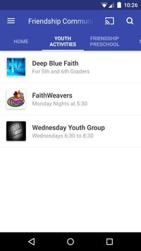 Friendship Community Church screenshot 1