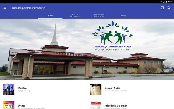 Friendship Community Church screenshot 3