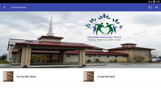 Friendship Community Church screenshot 5