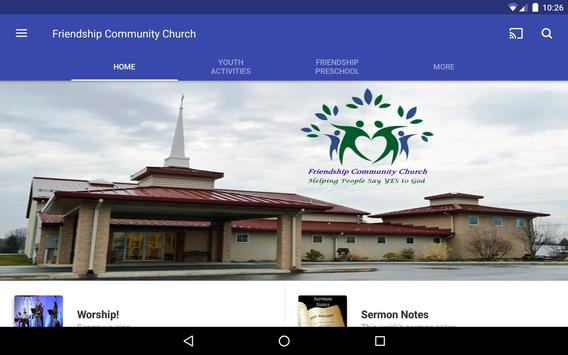 Friendship Community Church screenshot 6