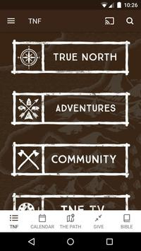 The New Frontier Ministries poster