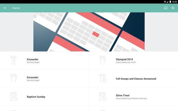 Grace Gathering App screenshot 5