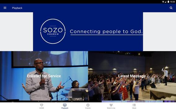 Sozo Church screenshot 4