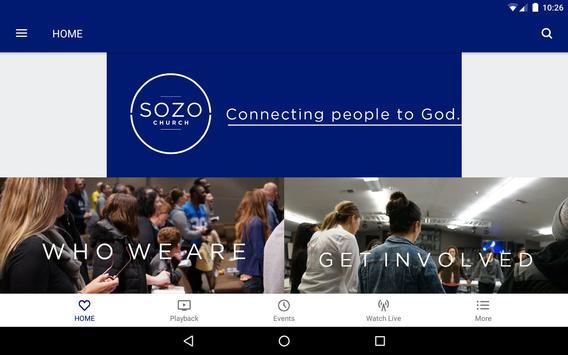 Sozo Church screenshot 6