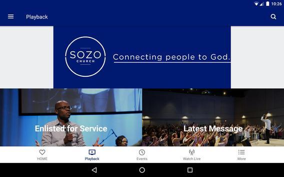Sozo Church screenshot 7