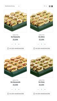 SUBWAY® Catering & Lieferservice poster