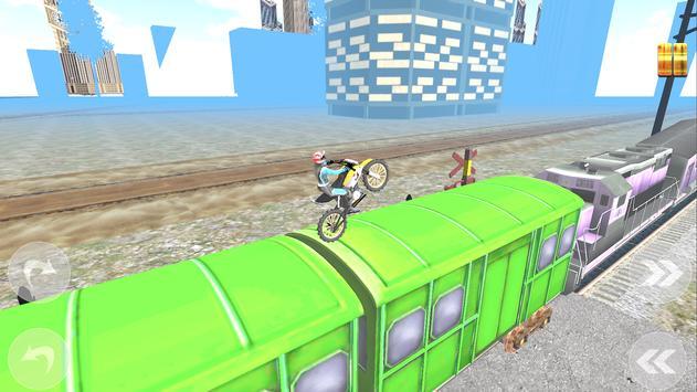 Subway Moto Rider screenshot 1