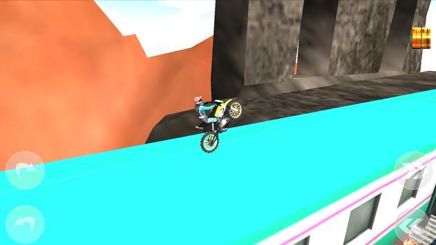 Subway Moto Rider screenshot 3