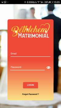 Bethlehem Matrimonial screenshot 1