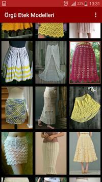 Knitting Skirt Models-Needle Crochet Skirt Samples screenshot 1