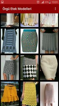 Knitting Skirt Models-Needle Crochet Skirt Samples screenshot 2